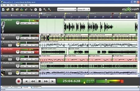 Acoustica mixcraft 4 multipista Software de grabación de audio MIDI (estándar)