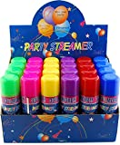 bulk party streamers - 48 Pack Wholesale Lot: Silly Party Crazy String Streamer Spray Cans Wholesale Lot High Quality