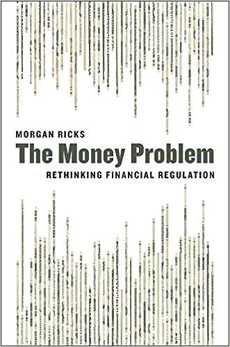 Money Problem: Rethinking Financial Regulation
