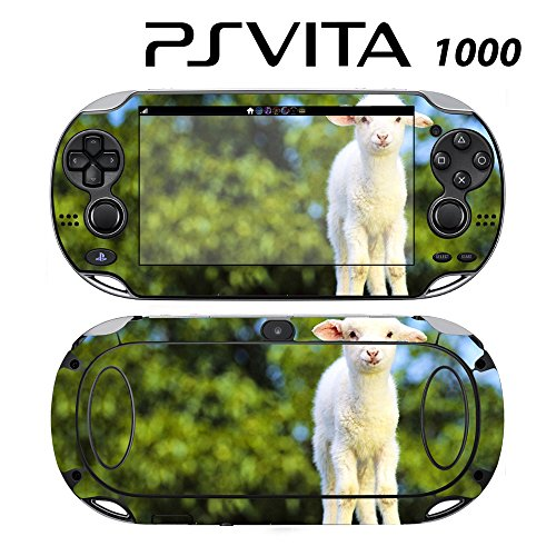 Decorative Video Game Skin Decal Cover Sticker for Sony PlayStation PS Vita (PCH-1000) - Cute Sheep -  Decals Plus