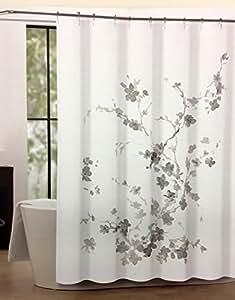 Amazon Com Tahari Luxury Shower Curtain Printemps 2 Beige