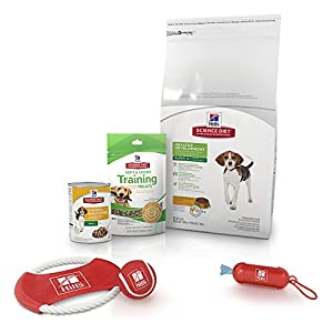 Hill's Science Diet Puppy Food Bundle, Healthy Development Puppy Bundle with Puppy Treats and Toys