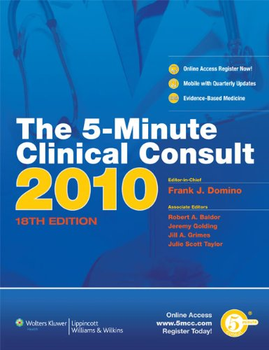 The 5-Minute Clinical Consult 2010 (Print, Website, and Mobile) (The 5-Minute Consult Series)