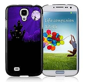 Diy Design Samsung S4 TPU Protective Skin Cover Halloween House Black Samsung Galaxy S4 i9500 Case 1