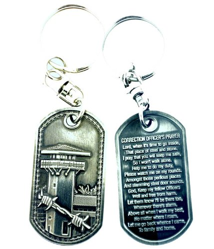 correction-officers-prayer-brushed-steel-keychain