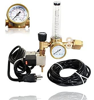 SPL Co2 Regulator Emitter System with Solenoid Valve and Flow Meter Made of High Quality Brass