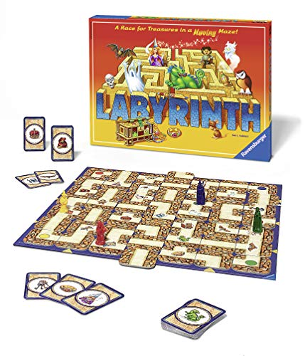 Ravensburger Labyrinth Family Board Game for Kids and Adults Age 7 and Up - Millions Sold, Easy to Learn and Play with Great Replay Value -
