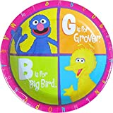 Sesame Street 'P is for Party' Small Paper Plates (8ct)