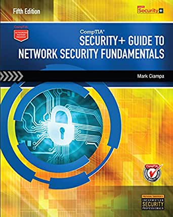 Lab manual for security+ guide to network security fundamentals.