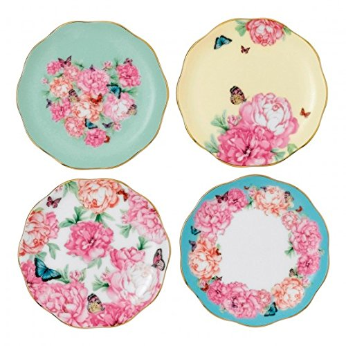 Tidbit Plates Set of 4 - Glasses Kerr Miranda