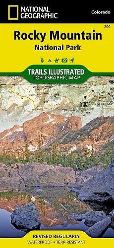 Rocky Mountain National Park Hiking Map