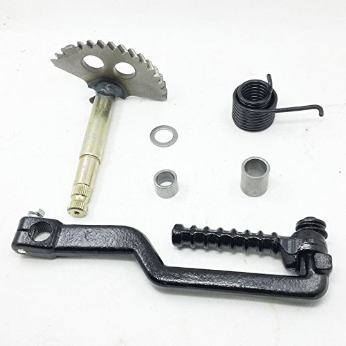 Kick Start Shaft Gear & Kick Start Starter Lever GY6 150cc Chinese Scooter Parts