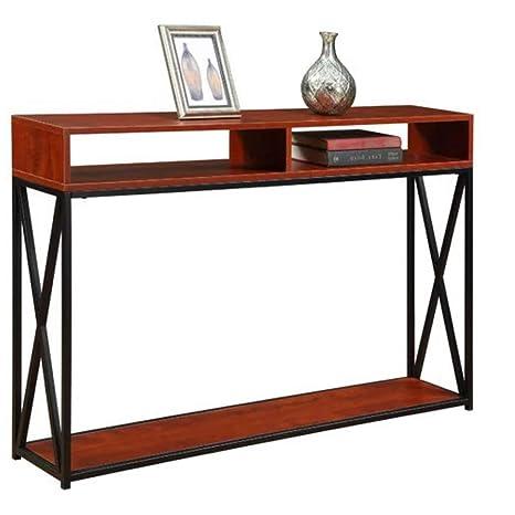 Amazon.com: Estantería de almacenamiento de mesa de consola ...