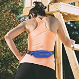 Gear Beast Running Belt Fanny Pack Waist Bag. ID, Key And Hydration Holder, Slim Adjustable Sport And Travel Pack Holds Cell Phones Including iPhone X 8 7 6s 6 Plus Galaxy S6 S7 Edge S8 Plus Note 8