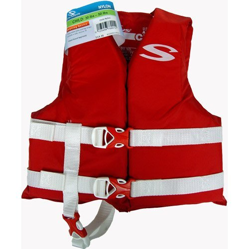 訳あり Stearns Kid's Nylon PFD Life Boating Life Stearns Vest (30-50lbs, Nylon Red) by Stearns B00H8W3I3O, お宝ワールド:cf24e360 --- a0267596.xsph.ru