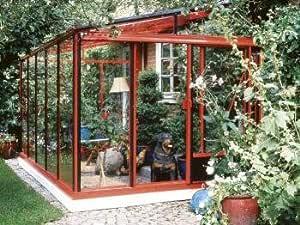 Ideapiu Edera - Invernadero de cristal para Patio, ventanal ...
