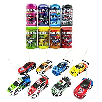 Mini Coke Can RC Radio Remote Control Speed Micro Racing Car Toy Gift For Kids