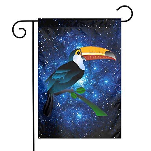 Bird Toucan Clip Art Funny Outdoor/Indoor Demonstration Flag