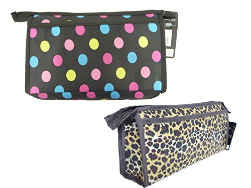Cosmetic Makeup Bag Size: 10'' x 5.5'' x 2.36'' , Case of 144