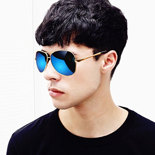 Hombres Color para Espejo Hombre Sol Gafas GAOYANG Polarizadores De Sol E C Gafas Espejos para Mujeres Hombres Gafas De Manejar Conduciendo HD Y SxqROH