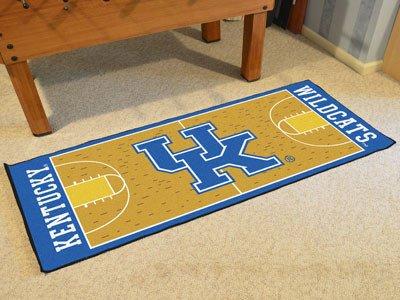 Kentucky Basketball Court Runner 30x72 - Licensed Kentucky Wildcats Gifts