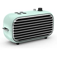 Vintage Bluetooth Speaker - Fashion Bluetooth Speaker, Wireless Speaker with Retro Appearance, Strong Bass Enhancement, FM Radio, Fashion Speaker for Jazz & Popular Music in Party, Indoor Outdoor Use
