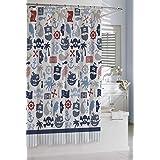 Kassatex SCB-115-PRT-MUL Bambini Pirates Shower Curtain