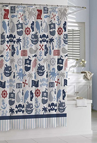 Bambini Pirates Shower Curtain