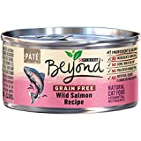 Purina Beyond Grain Free Pate Wild Salmon Recipe Adult Wet Cat Food - Twelve (12) 3 oz. Cans