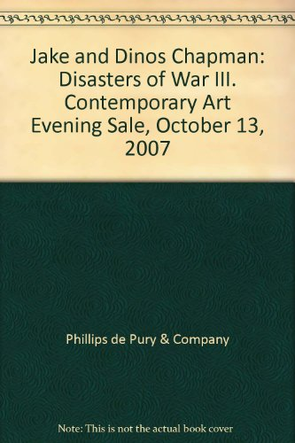 Disasters of War III Jake and Dinos Chapman Contemporary Art Evening Sale October 13, 2007