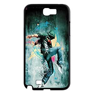 Elegant Dancer Case Cover Best For Samsung Galaxy Note 2 Case FGJK-U486611