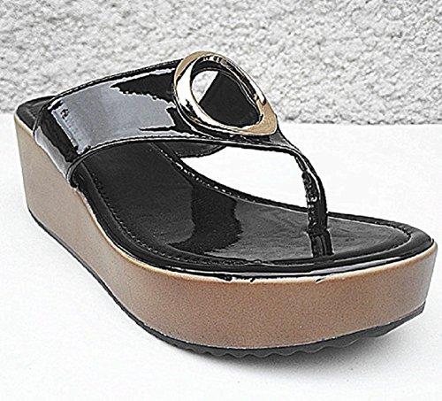 fashionfolie Women's Fashion Sandals n08bt3