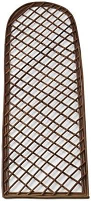 Celosía decorativa de madera de sauce enrejado de soporte para ...