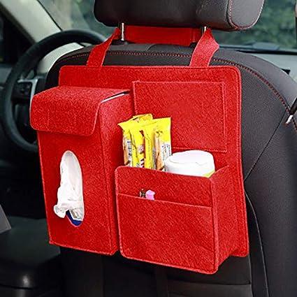 Alextry Car Storage Bag Schienale Universale Organizer Borse Felt Backseat Holder Multi-Tasche Container
