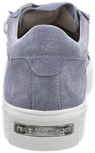 und Donna Crystal Schuhmanufaktur Cielo Up Sneaker Blu Bianco Sohle Kennel Schmenger dn8qw1xWCC