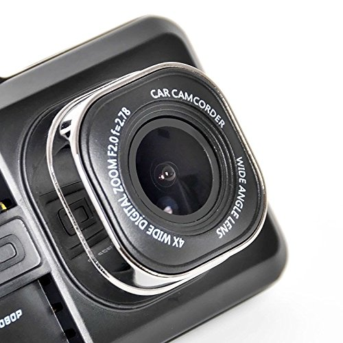 QUMOX 3 HD 1080P dans v/éhicule Car Dash Cam DVR cam/éra vid/éo enregistreur G-capteur HDMI