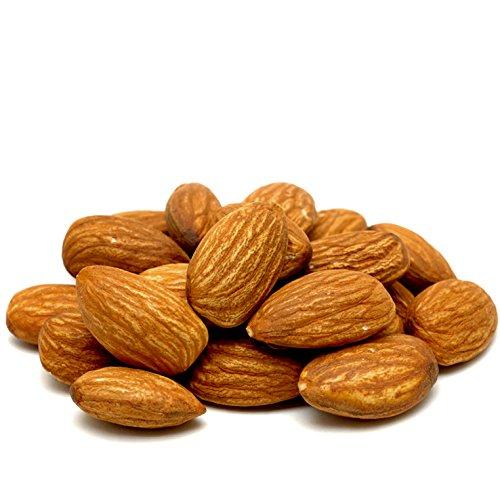 Almonds Roasted No Salt, Freshly Roasted Almonds Unsalted - Oh! Nuts (1 LB Almonds Roasted No Salt)