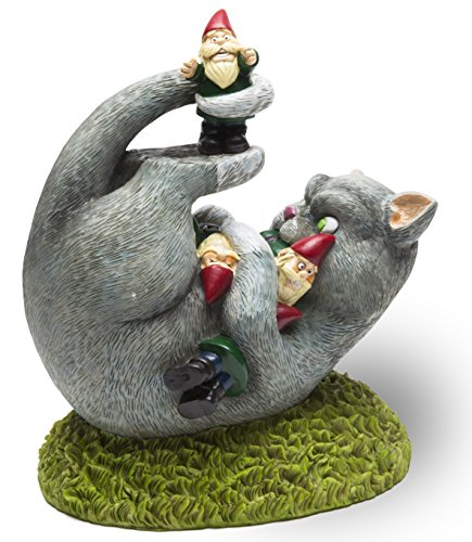 BigMouth Inc. The Cat Garden Gnome Massacre - Funny Weatherp