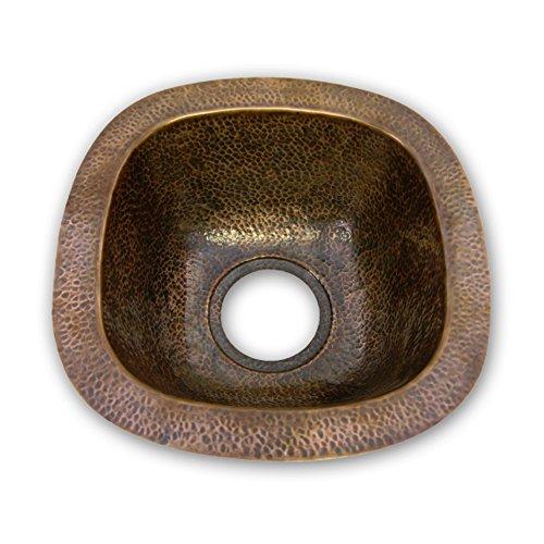 Copper Hammered Single Bowl - 3