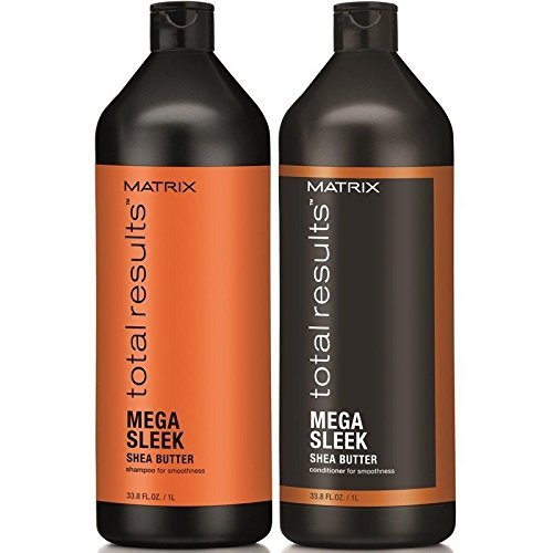 Matrix Matrix Total Results Mega Sleek Shea Shampoo & Conditioner Duo 33.8 Oz, 2count