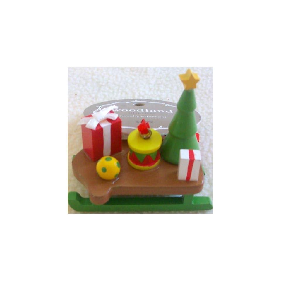 Woodland Holiday, Novelty Ornament, Christmas Carol, Tree Decor