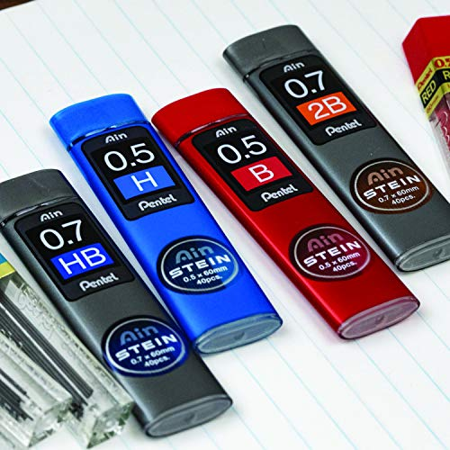 Pentel Ain Stein Leads 0.7mm H Tubes 40(Pack of 12) by Pentel (Image #1)