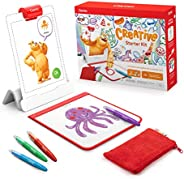 Osmo - Creative Starter Kit for iPad - 3 Educational Learning Games - Ages 5-10 - Drawing, Word Problems &