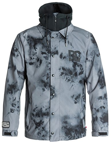 DC Men's Cash Only Jacket, Tie Dye/Pewter, X-Large