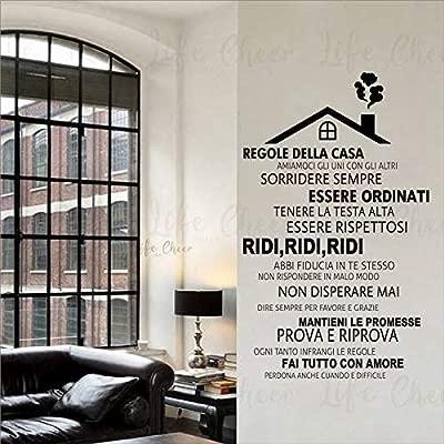 Geiqianjiumai Normas de la casa Vinilo Italiano Della House ...