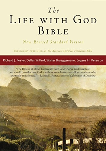 NRSV, The Life with God Bible, Compact, Paperback (A Renovare Resource)