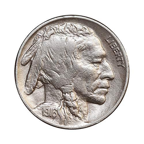 1916 P Buffalo Nickel - Gem BU/MS/UNC
