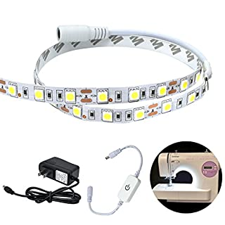 YouVogue Sewing Machine Lighting Kit, Attachable LED Daylight Sewing Light Strip Kit ,Fits All Sewing Machines -Special Gift for Mother's Day