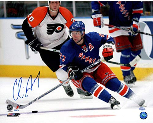 - Chris Drury New York Rangers Signed Skating vs. Flyers 16x20 Photograph - Steiner Sports Certified - Autographed NHL Photos