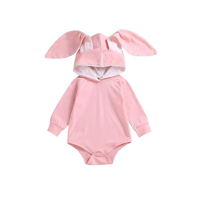 Amazon.com: Baby Rabbit Onesie, Infant Toddler Rabbit ...